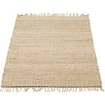 Jute kleed natural
