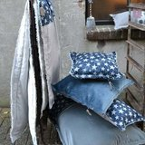 Stapelgoed serie blauw ster