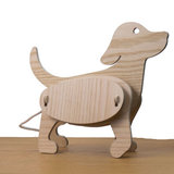 Gone's Zoo lamp hond hout