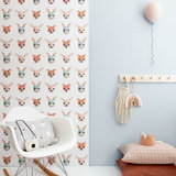 Studio Ditte Forest animals wallpaper