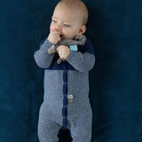 Snoozebaby Suit Knitted Indigo Blue sfeer