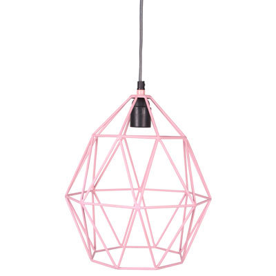 Hanglamp Wire Pink