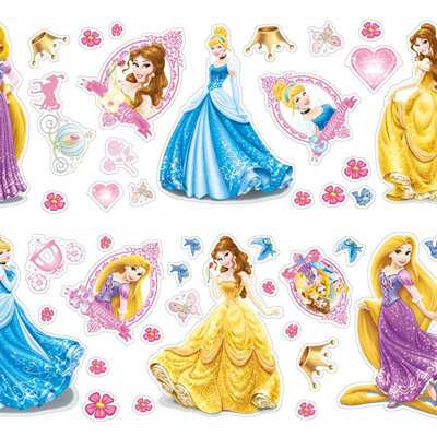 Princess muurstickers