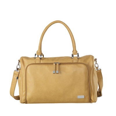 Luiertas Double Zip Satchel Sorrento Camel