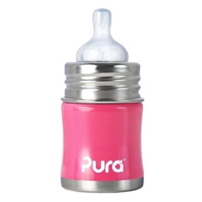 Pura Kiki speenfles 150 ml Pink