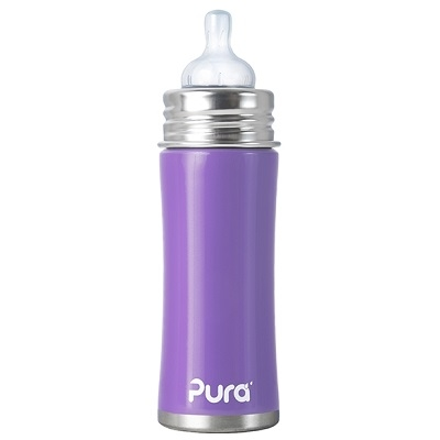 Pura Kiki speenfles 325 ml Paars