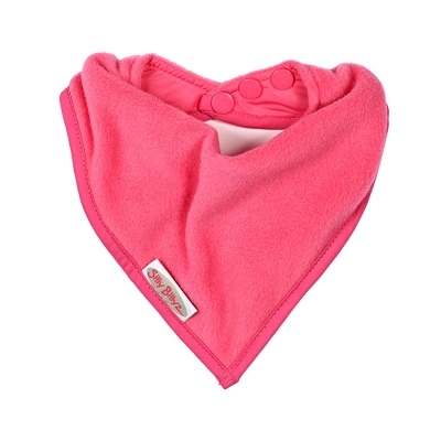 Silly Billyz bandana fleece slab fuchsia