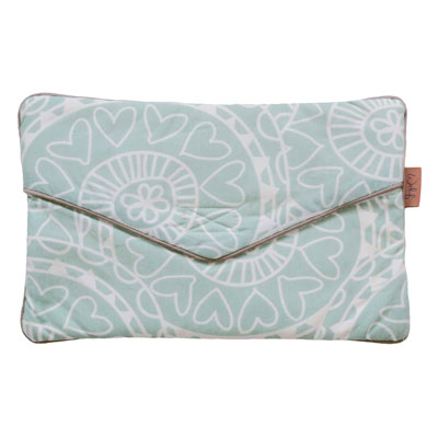 Witlof for kids clutch Little Lof mint-offwhite