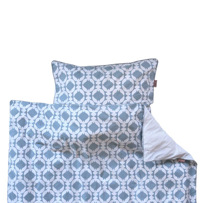 Witlof for kids Tuck-Inn dekbedovertrek junior Fly High Dusty Blue