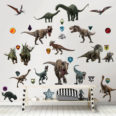 Walltastic muursticker Jurassic World Fallen Kingdom