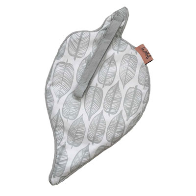 Witlof for kids speendoekje Beleaf Warm grey