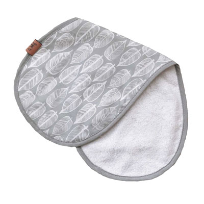 Witlof for kids spuugdoekje Beleaf Warm grey