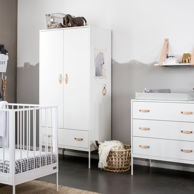 Coming Kids Bliss Babykamer White