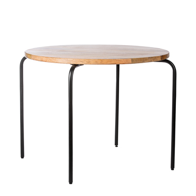 KidsDepot Circle Tafel Black