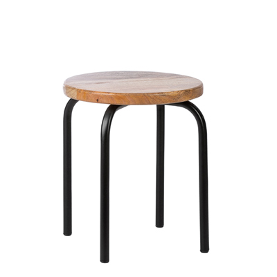 KidsDepot Circle Kruk Black