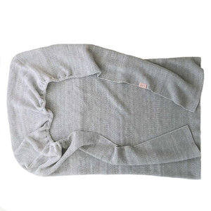 Witlof for kids Tuck-Inn ledikantdeken Ombre Warm Grey-wit