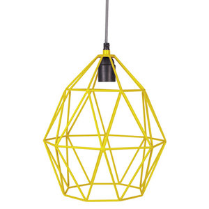 Hanglamp Wire yellow