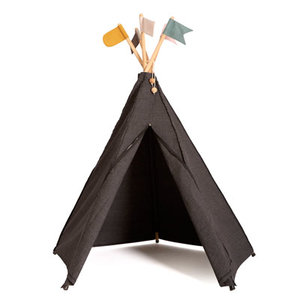 Roommate Tipi tent antraciet