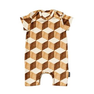 Playsuit Baby Wooden Cubes