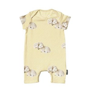 Playsuit Baby Little Lambs